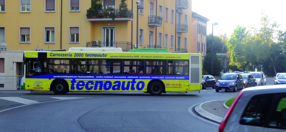 Pubblicità su autobus Terni valore media